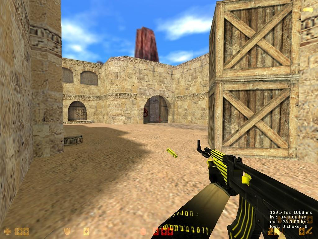 Пак] gold модели оружия cs 1. 6.